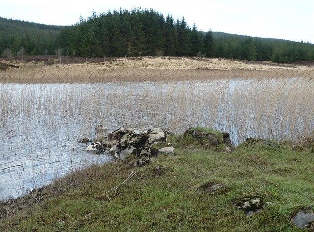 Finlaggan - Ancient jetty (remains)