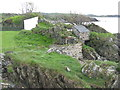 NR4146 : Old buildings at Ardbeg by M J Richardson