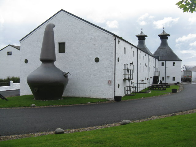 Distillery at Ardbeg