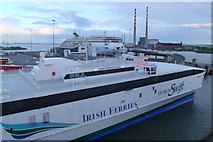 O2034 : Irish Ferries Terminal, Dublin Port by Kevin Williams