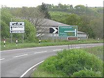 NR8261 : The A83 at Kennacraig by M J Richardson