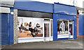 J3873 : Disguised shops, Knock, Belfast (May 2014) by Albert Bridge
