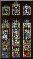 TF0881 : East Window, Ss Peter & Lawrence church, Wickenby by J.Hannan-Briggs