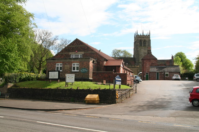 Greasley Village Hall and Church