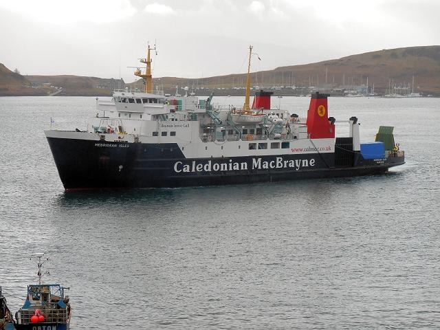Hebridean Isles Arriving at Oban