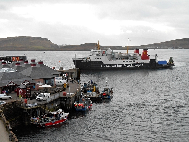 Four O'clock Arrival at Oban Ferry Terminal