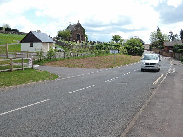 Cullompton: Tiverton Road