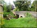 SP9485 : Brigstock, roadbridge by Mike Faherty