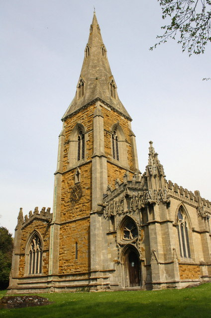 West end of St Luke's Church