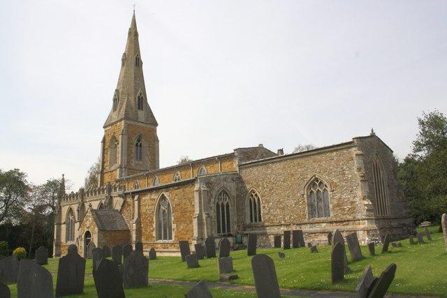 St Luke's Church and headstones