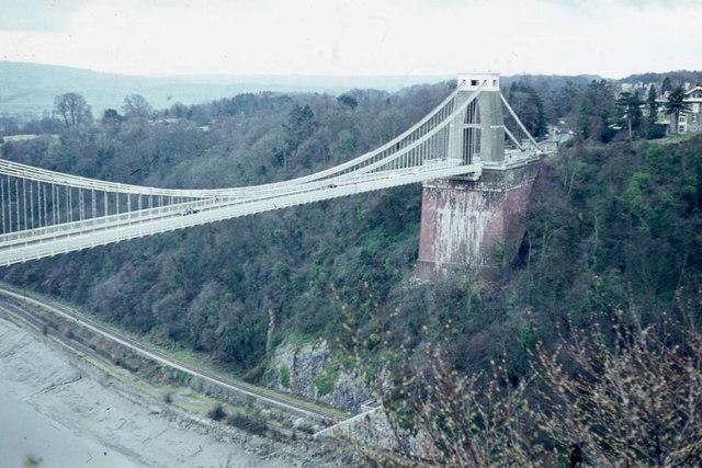Clifton Suspension Bridge& River Avon