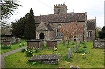 ST6990 : Cromhall church by Philip Halling