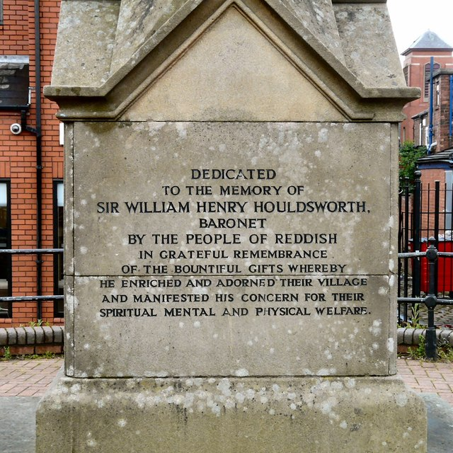 Dedication to William Houldsworth