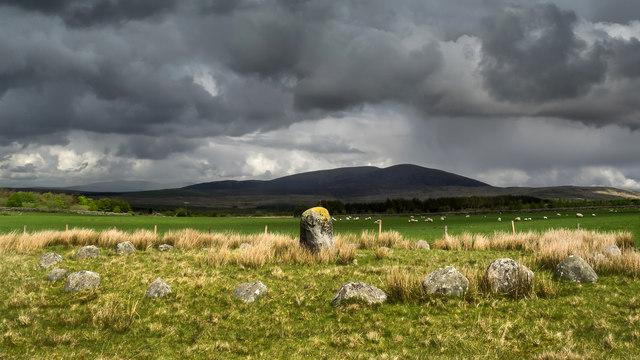 Glenquicken Stone circle