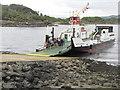 NR8768 : Leaving the ferry at Tarbert by M J Richardson