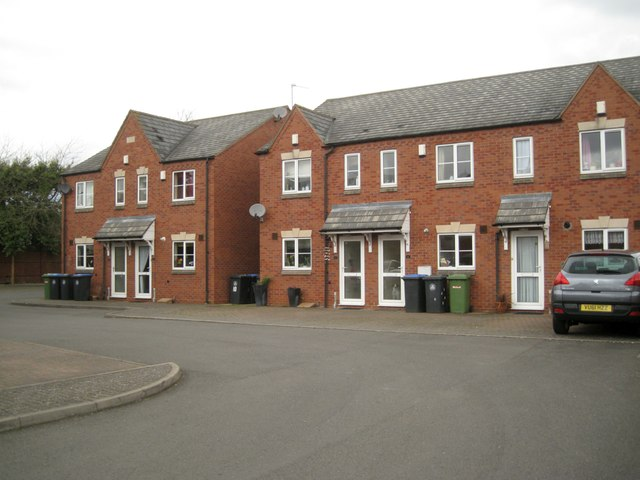 Houses, Manse Gardens, off Church Street, Studley