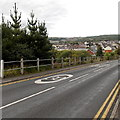 SO1711 : Slow down on the approach to Ebbw Vale by Jaggery