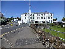 D1241 : The Marine Hotel, Ballycastle by Kenneth  Allen