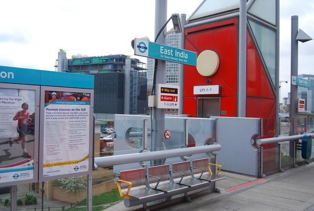 India Dock DLR Station