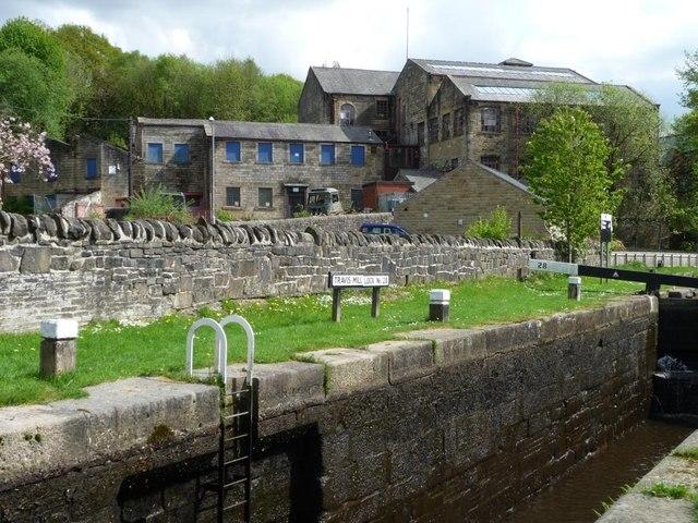 Mill near Travis Mill Lock [No 28], Walsden