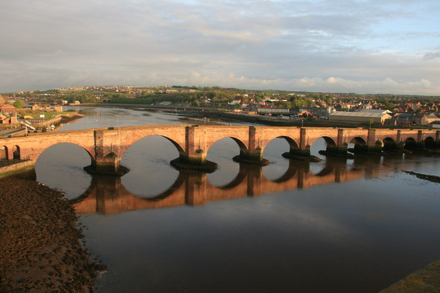 The Old Bridge at Sunset