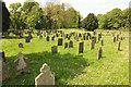 SK8333 : Woolsthorpe upper cemetery by Richard Croft