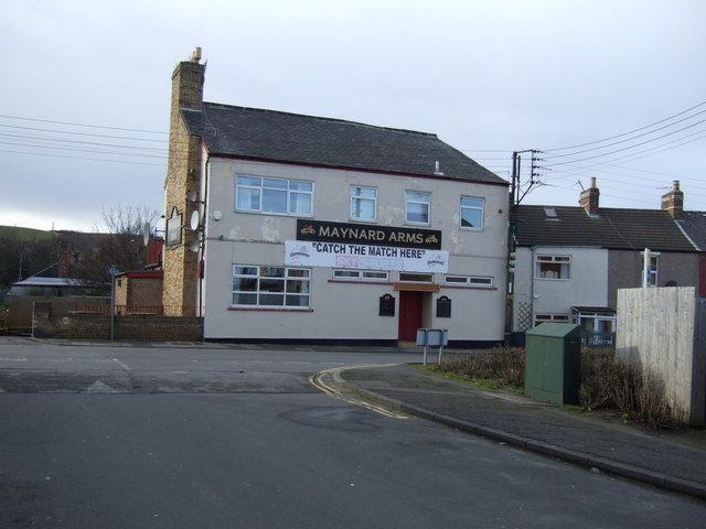 The Maynard Arms pub, Carlin How