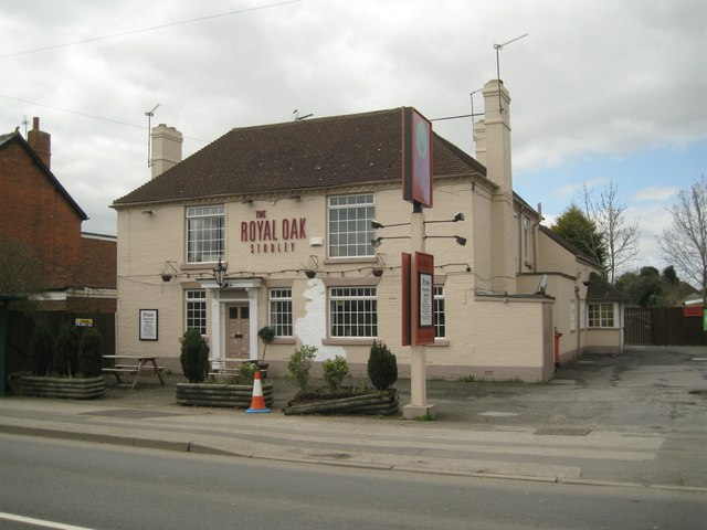 The Royal Oak public house, Alcester Road, Studley