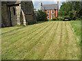 SK8770 : All Saints' churchyard by Richard Croft