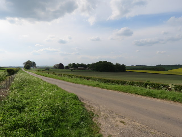 Minor  road  from  Holme  on  the  Wolds