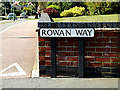 TM4389 : Rowan Way sign by Adrian Cable