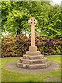 SJ4564 : Millennium Cross, Waverton by David Dixon