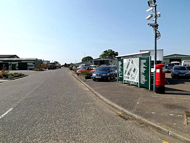 Industrial Estate Road & Benacre Road Postbox