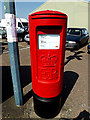 TM4488 : Benacre Road Postbox by Adrian Cable