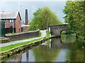 SD9012 : Well i' th' Lane Bridge [No 61], Rochdale Canal by Christine Johnstone