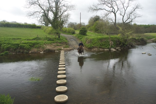 Ford and new Stepping Stones at Old Hawkhill