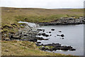HU4450 : Small beach at the end of Wadbister Ness by Mike Pennington