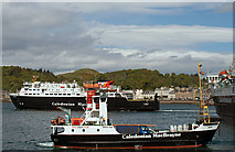 NM8529 : Full house in Oban Bay by The Carlisle Kid
