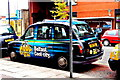 J3373 : Belfast - City Centre - Blue Taxi along Glengall Street near Bus Station by Suzanne Mischyshyn