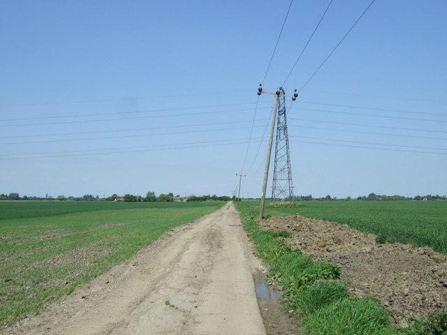 Track to Speedwell Farm