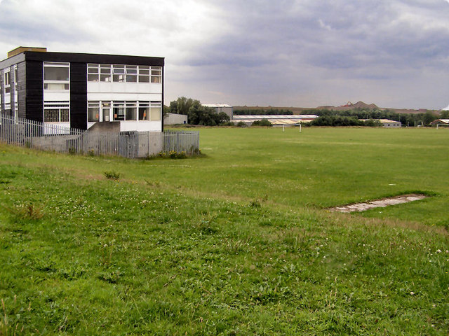 Heywood Community School RoSLA Block and Playing Fields (2010)