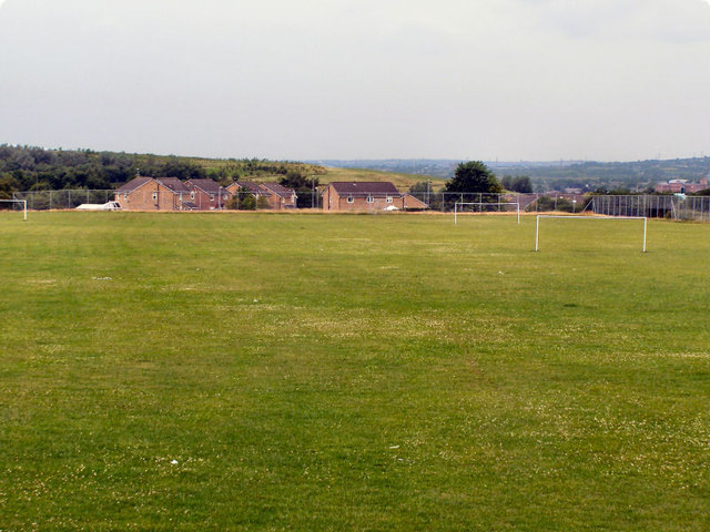 Heywood Community School Playing Fields, July 2010