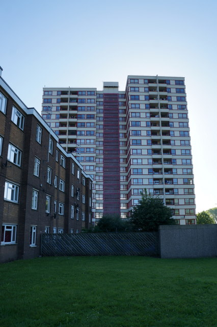 Silverwood House flats, Doncaster