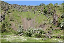 SO7641 : Berrington's Quarry, Black Hill, The Malvern Hills by Bob Embleton