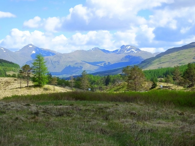 From the A85 near Tyndrum