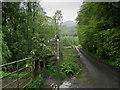 NS5381 : Fingerpost at Dumgoyach Bridge by Chris Heaton
