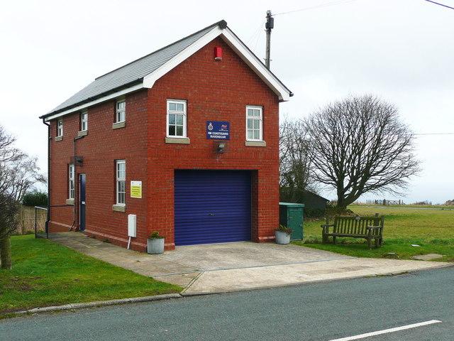H.M. Coastguard Rezcue Equipment Station