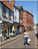 SP7387 : Market Harborough: Church Street by John Sutton