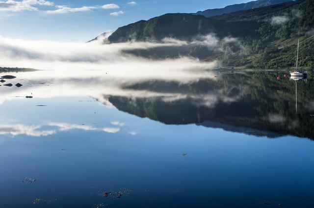 Early Morning on Loch Sunart