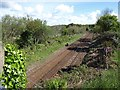 SX0955 : The railway between Par and Lostwithiel at Treesmill Bridge by David Gearing